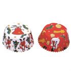 Caissettes pour Cupcakes et Muffins «noël»