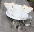Emporte-pièces tasse Ailes d'ange