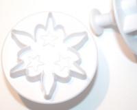 Emporte-pièce flocon 7cm avec éjecteur