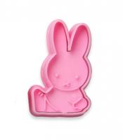 *Emporte-pièce Le lapin assis