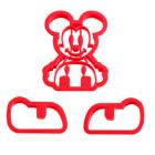 Emporte-pièce Mickey 3d
