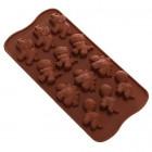 Moule chocolats dinos