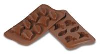 Moule chocolats feuilles