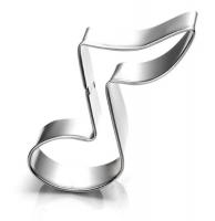 Emporte-pièce La note de musique