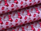 Feuille transfert pour chocolat Hello Kitty