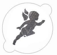 Petit pochoir «ange»