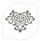 Pochoir «coeur»