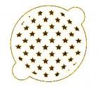 Pochoir «étoiles»
