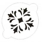 Pochoir «fleur»