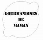 Pochoir «gourmandises de Maman»