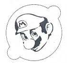 Pochoir Mario