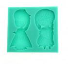 Moule Anna et Elsa